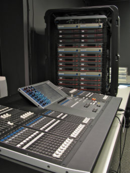 Console and light board installation for Thomas Jefferson Independent Day School