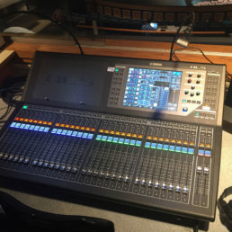Yamaha soundboard install for State Fair State College in Sedalia, Missouri