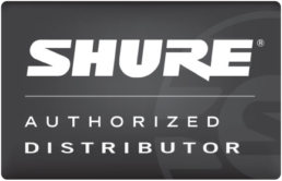 shure authorized distributer logo